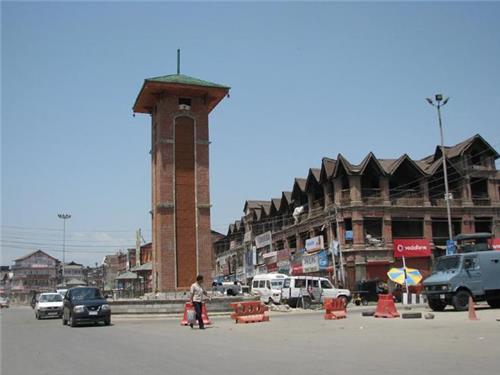 Localities in Srinagar