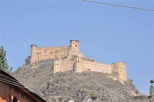 View of Har Parbat Fort