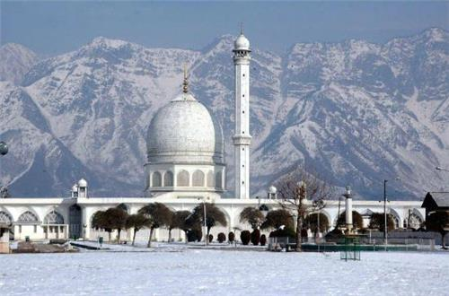Location of Hazaratbal Mosque
