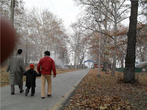 Naseem Bagh in early morning