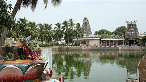 Temples in Chettinad