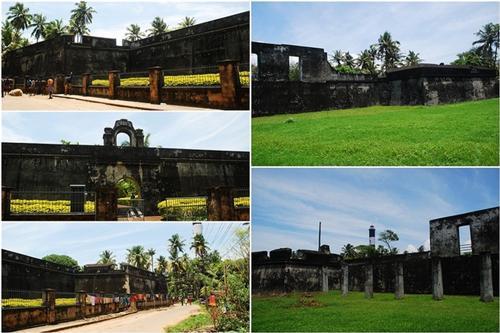 Anjengo Fort near Thiruvananthapuram
