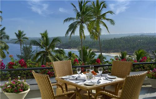The terrace leela kovalam
