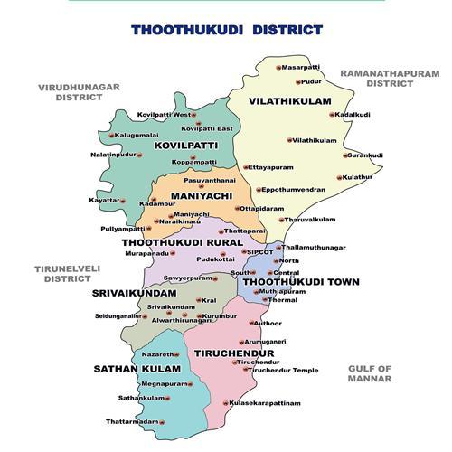 Geography of Thoothukudi