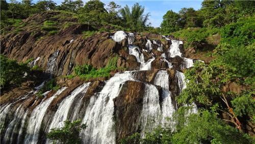 Ilanjippara Waterfalls near Thrissur
