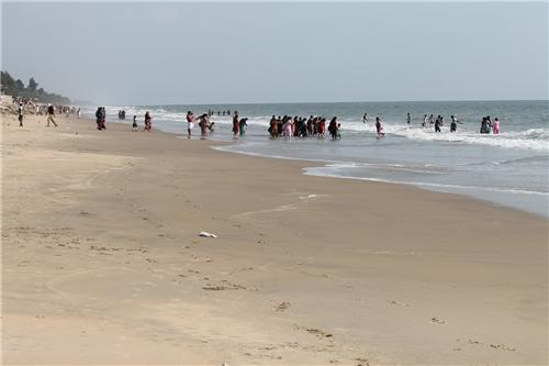 Snehatheeram Beach in Thrissur