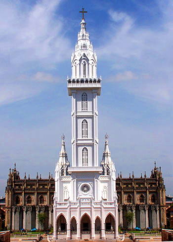 Bible tower in Thrissur