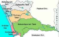 Geography of Thrissur