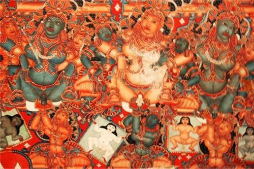 Mural in mural arts museum