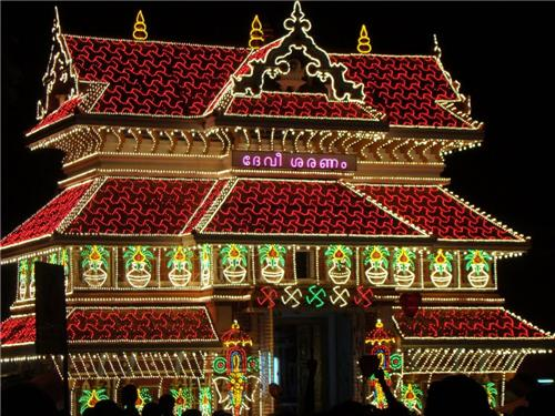 Paramekavu Temple