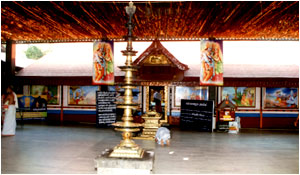 Ivor Madom Temple in Thrissur