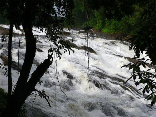 Vazhachal Waterfalls near Thrissur