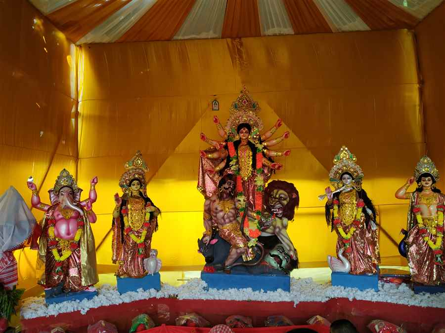 Balugada Durga Puja