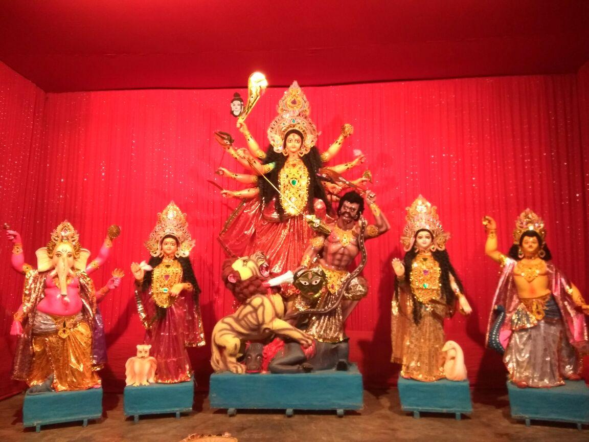 Bansbari Durga Puja Near Gargo Motors