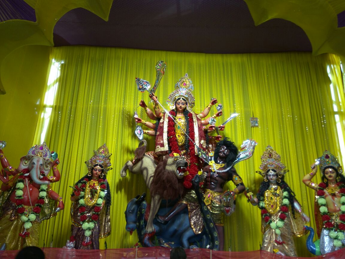 Bengphukri Durga Puja Near Marriage Hall