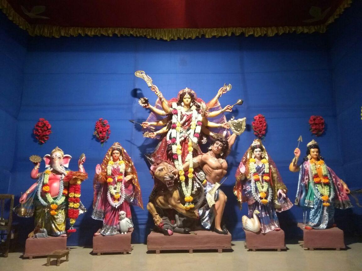 Borpathar Sarbajanik Durga Puja