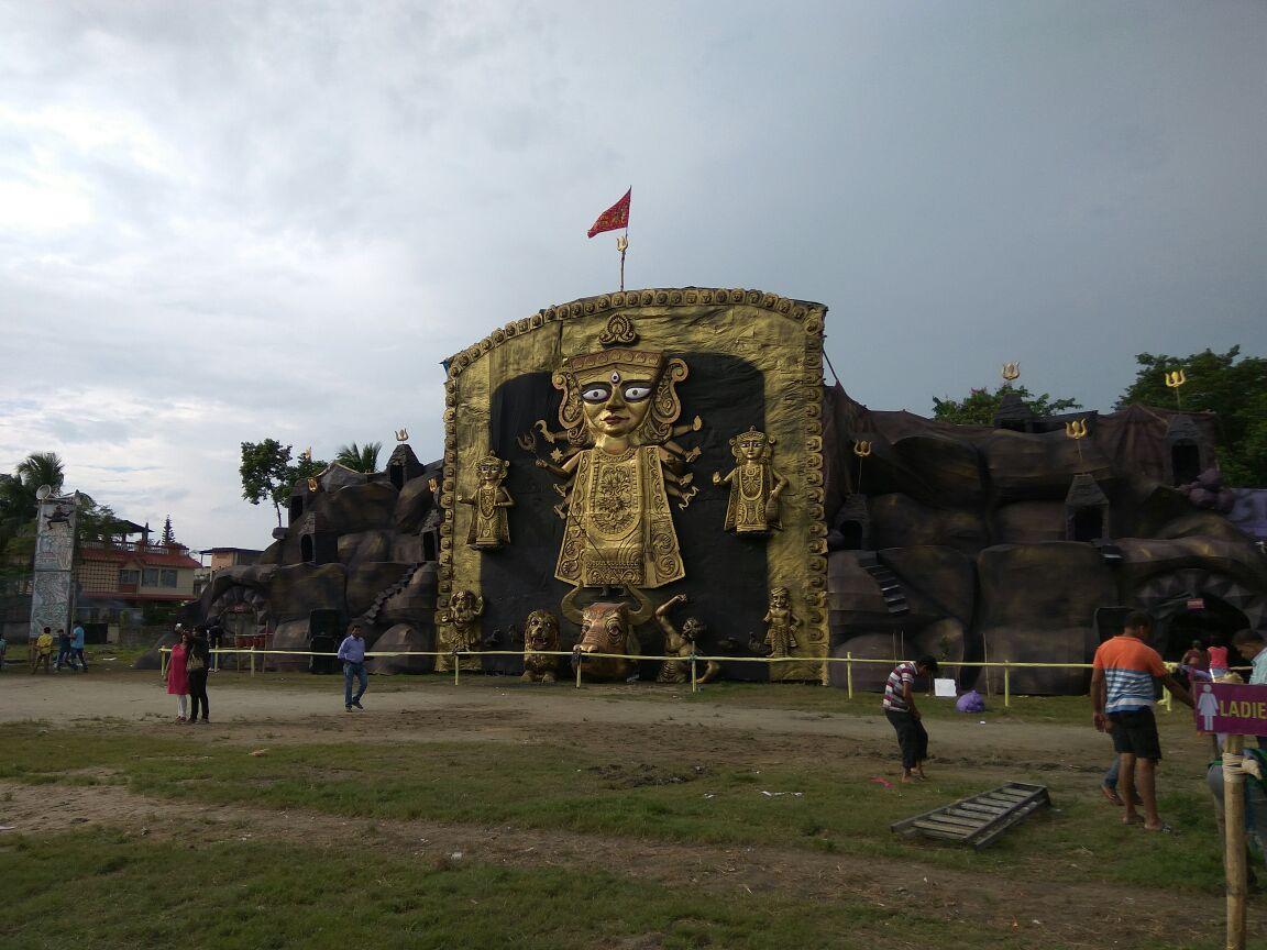 Chalia Nagar Durga Puja Pandal