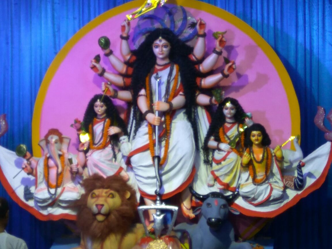 Makum Road Durga Puja Chinapatty