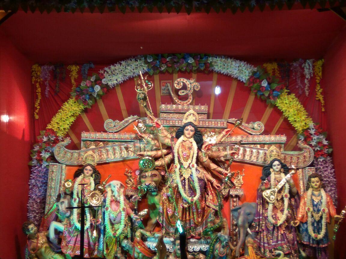 Sri Sri Dakshineswar Kalibari Durga Puja West Sripuria