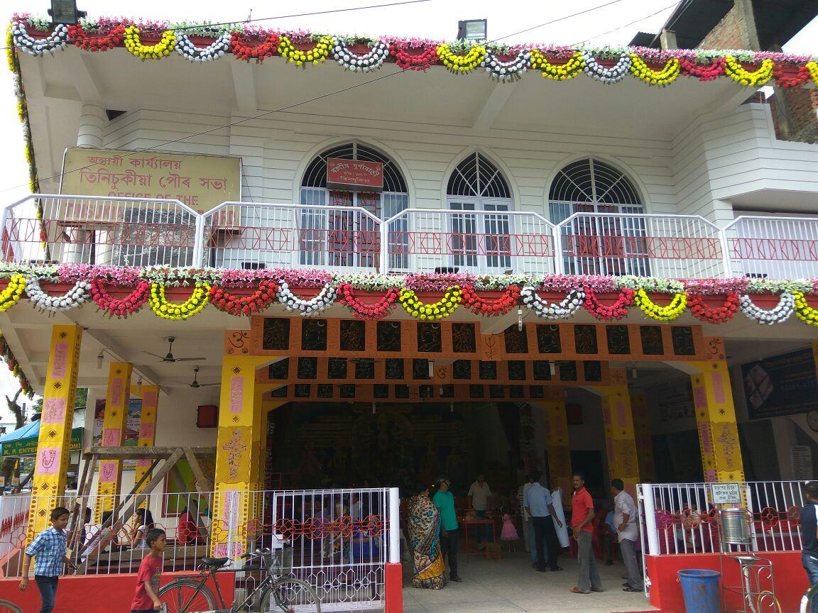 Durga Bari Puja Rungagora Road