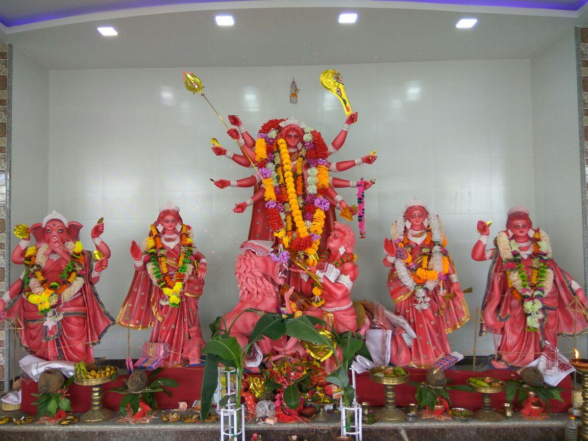 Golapchandra Ravichandra Puja Mandir Samiti Durga Puja Near AOC Gate