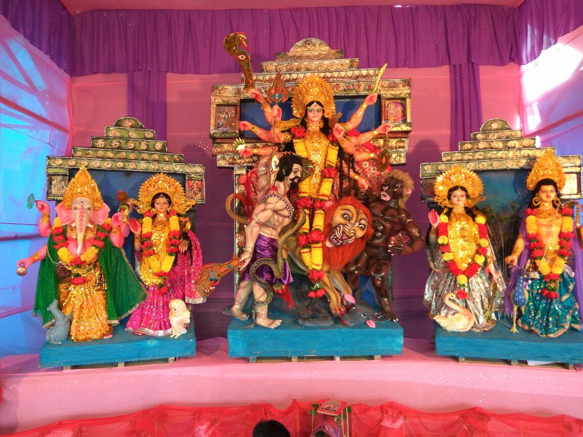 Sarbajanik Bikashpur Durga Puja Balaguda