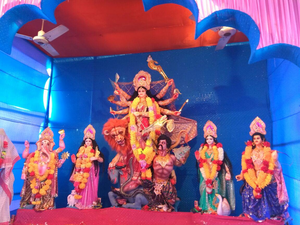 Barpathar Matri Mandir Durga Puja