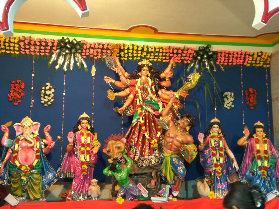 Friends Union Club Durga Puja Subochini Road