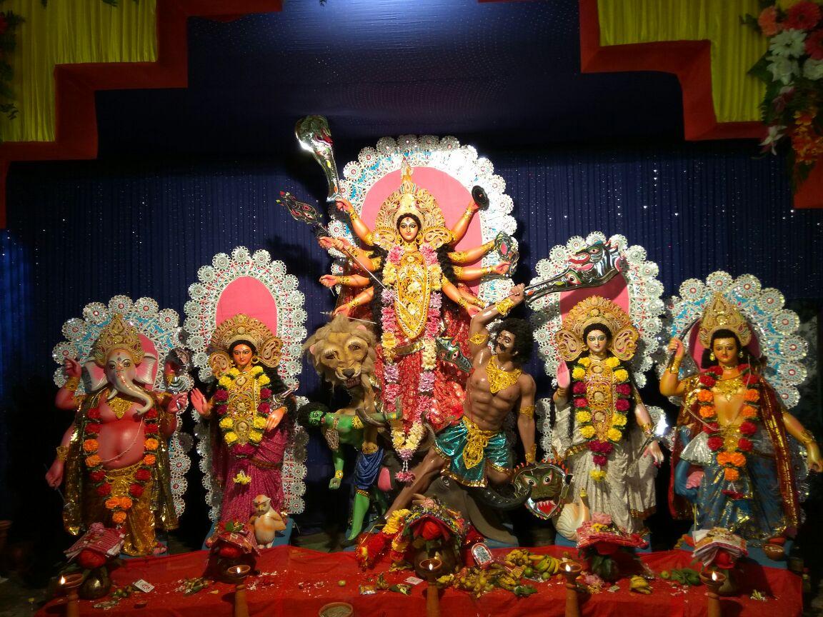 Sri Sri Sarvajanik Nepali Shiv Mandir Durga Puja
