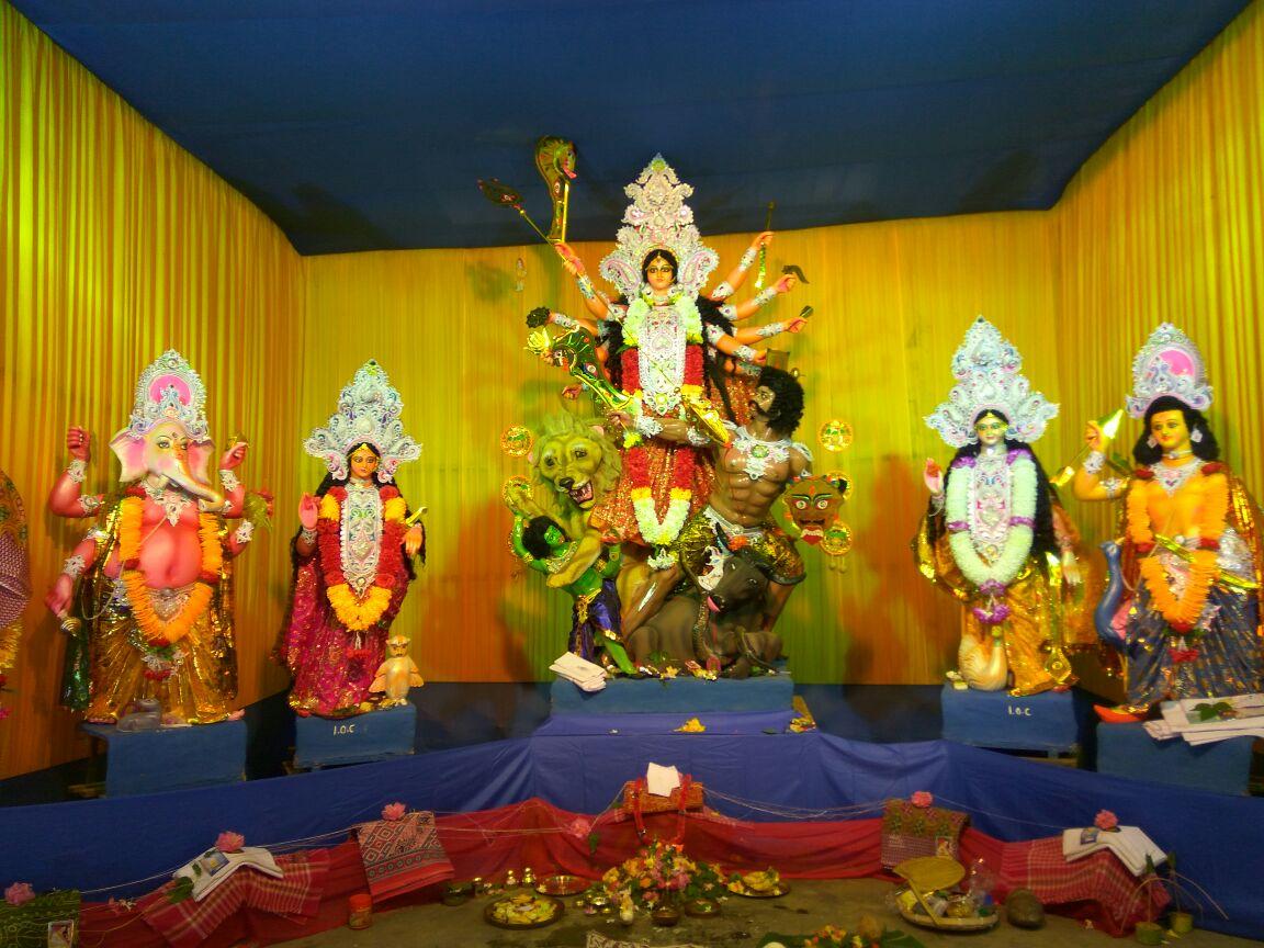 Indian Oil Employee Durga Puja