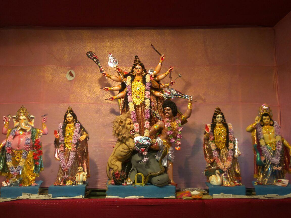 New Colony Durga Puja Hijuguri Railway Colony