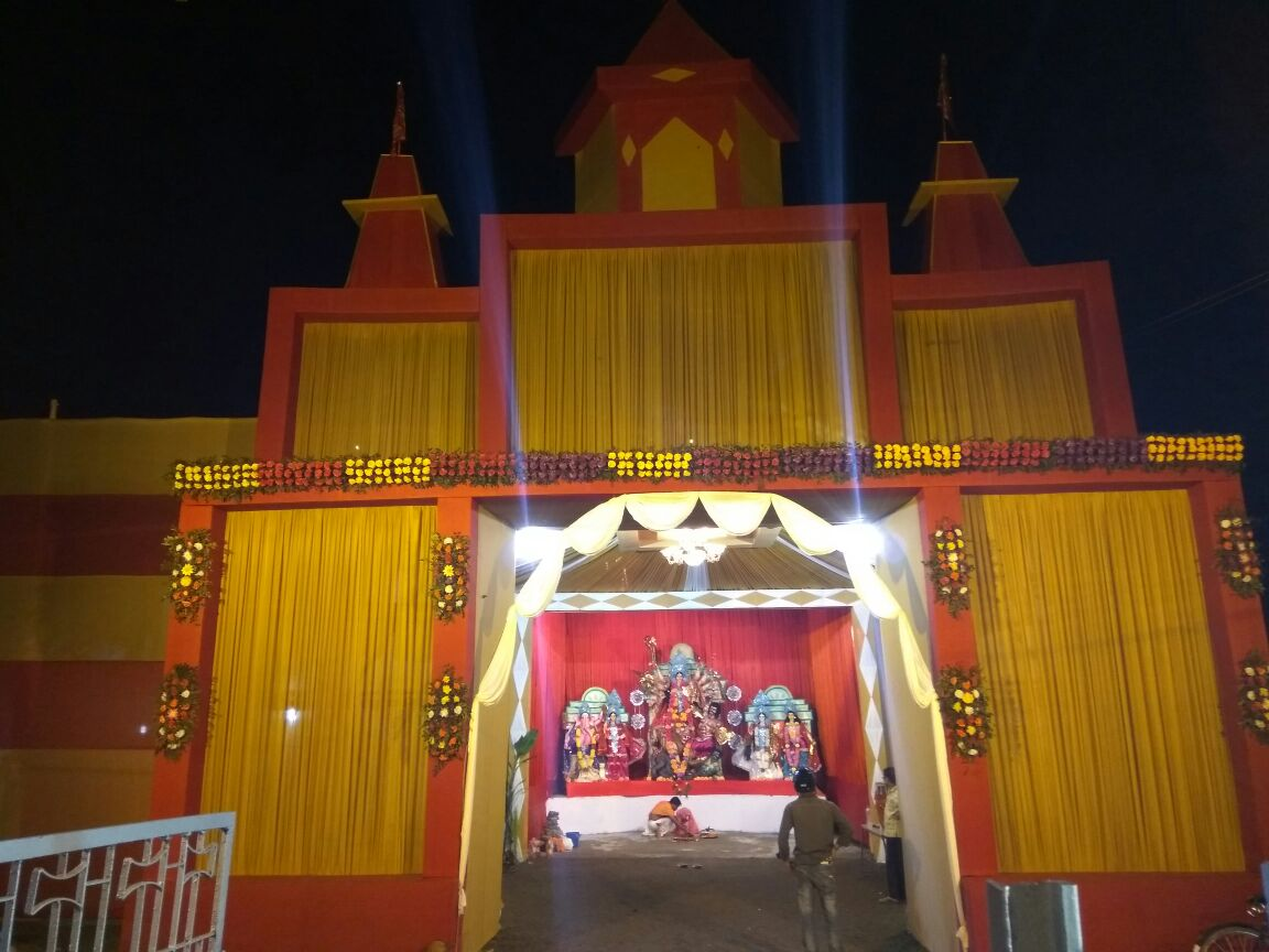 Railway Colony Durga Puja