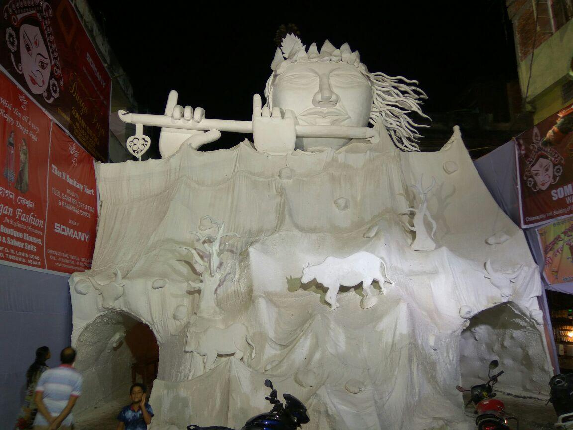 Rani Sati Mandir Durga Puja