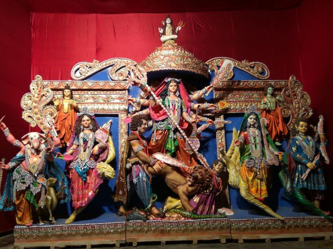 Hijuguri Railway Station Durga Puja