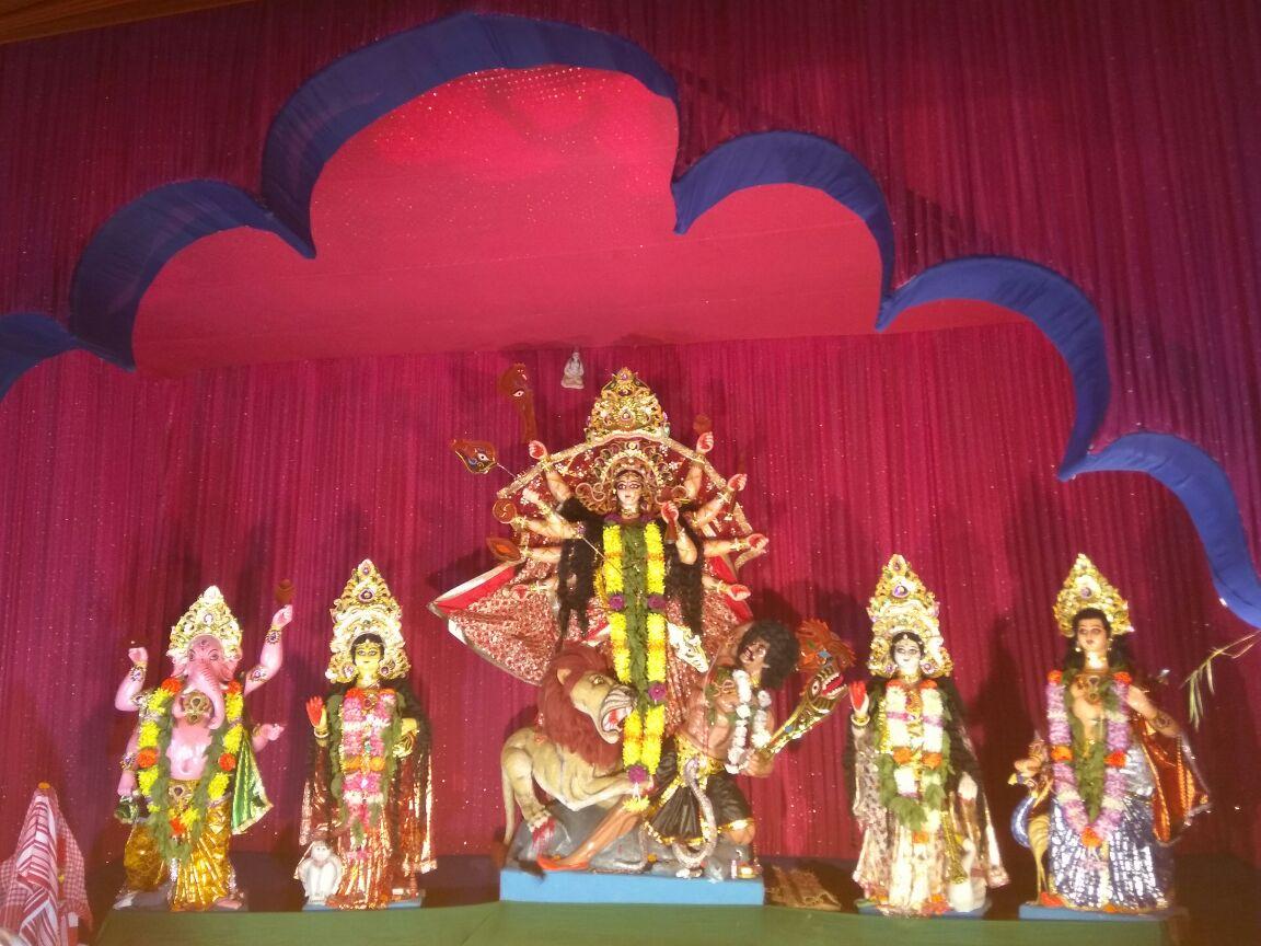 Sarbajanik Durga Puja AT Road