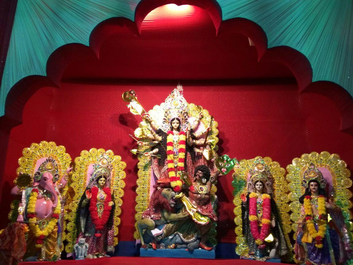 Bindeswar Colony Durga Puja