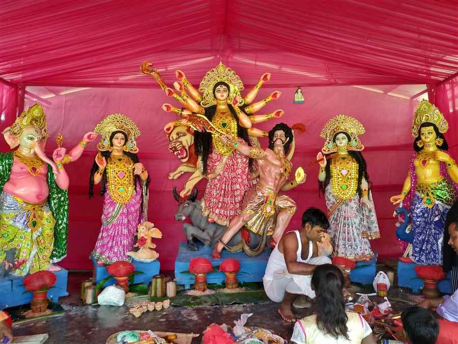 Katchujan Durga Puja