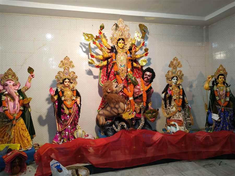 Maa Durga Puja in Assam