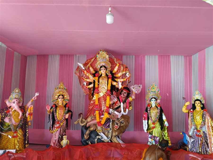 Puja Committee in Guijan