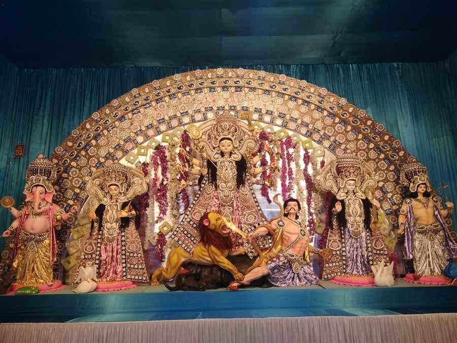 Shree maa Durgeshwari Puja Idol 1