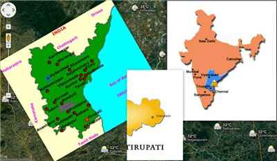 Geography of Tirupati