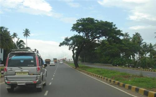 Roadways in Tirupur