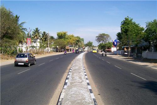 Roads in Tirupur