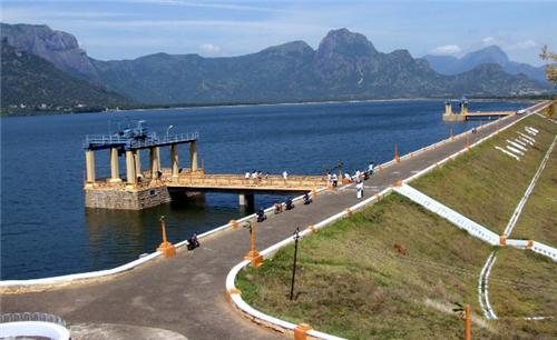 Dams in Tirupur