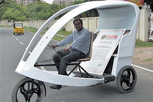 Eco Friendly Taxi
