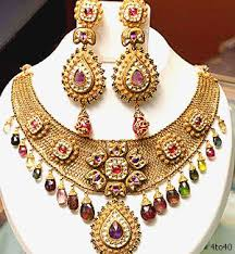Jewellery in showroom
