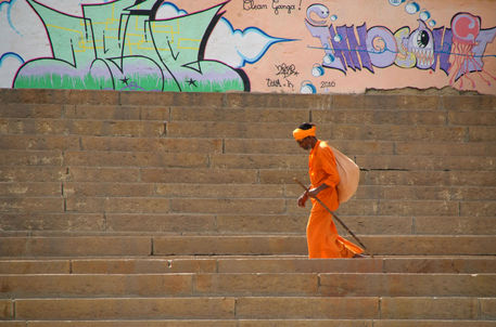 A walk along the Ghats in Varanasi