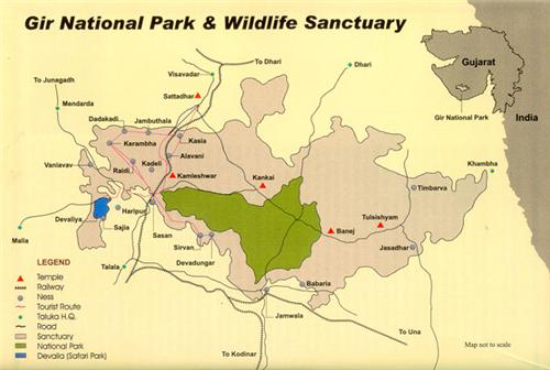 Wildlife Sanctuary in Veraval