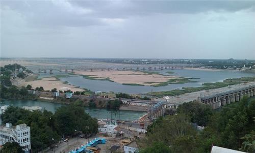 Krishna River in Vijayawada