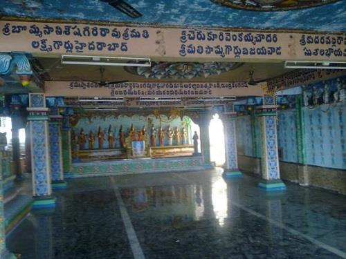Inside Sri Subramanya Swamy Temple in Vijayawada